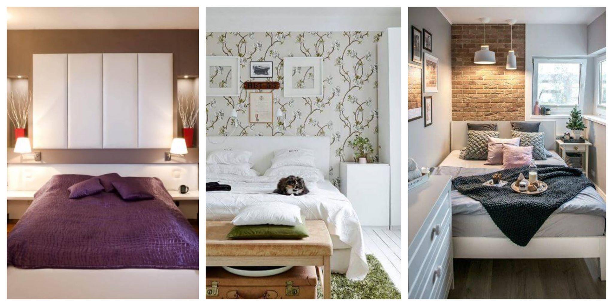 20+ inspirativních nápadů pro menší ložnice