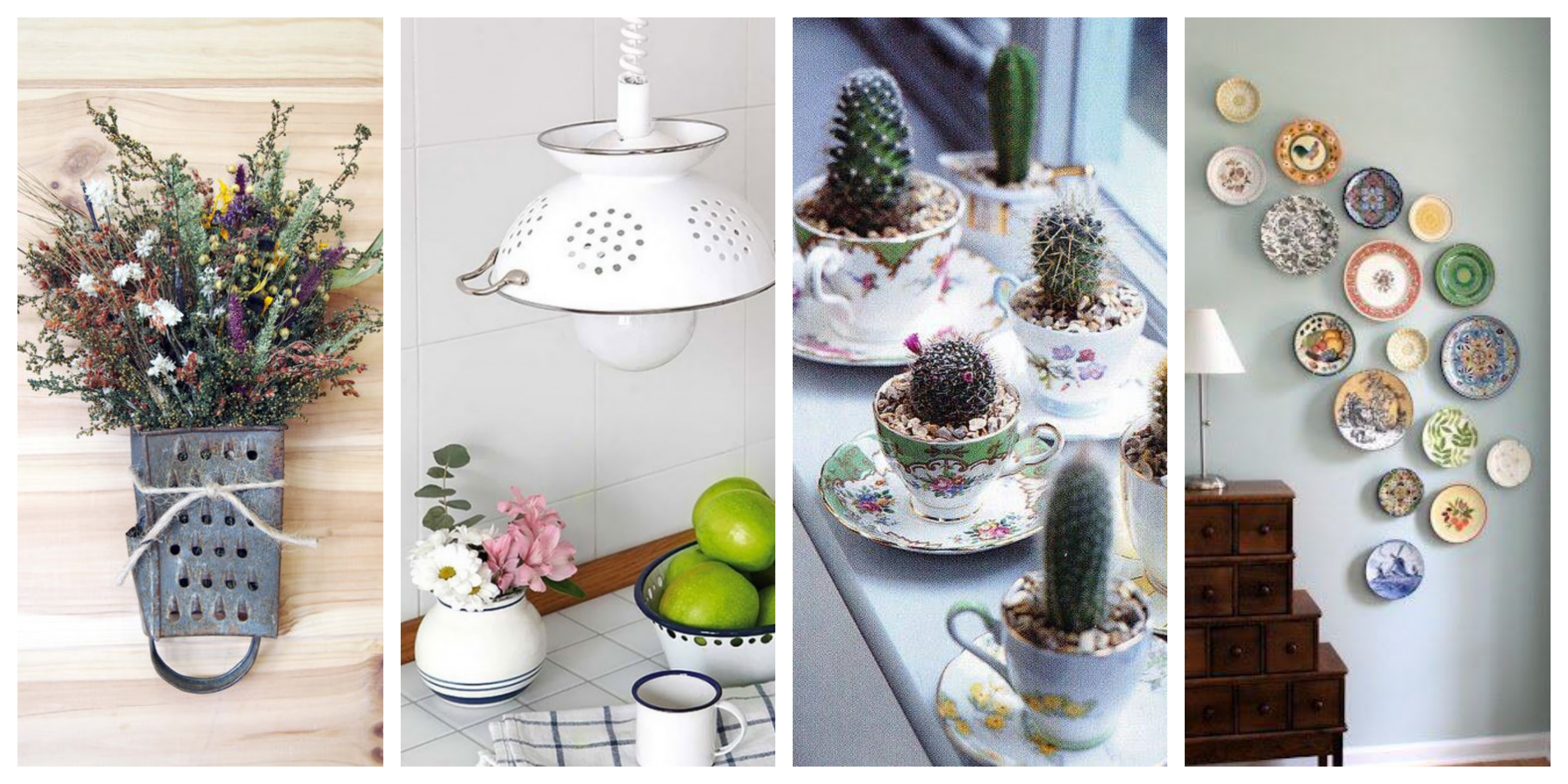 25 tipů jak vyrobit dekorace ze starého kuchyňského vybavení