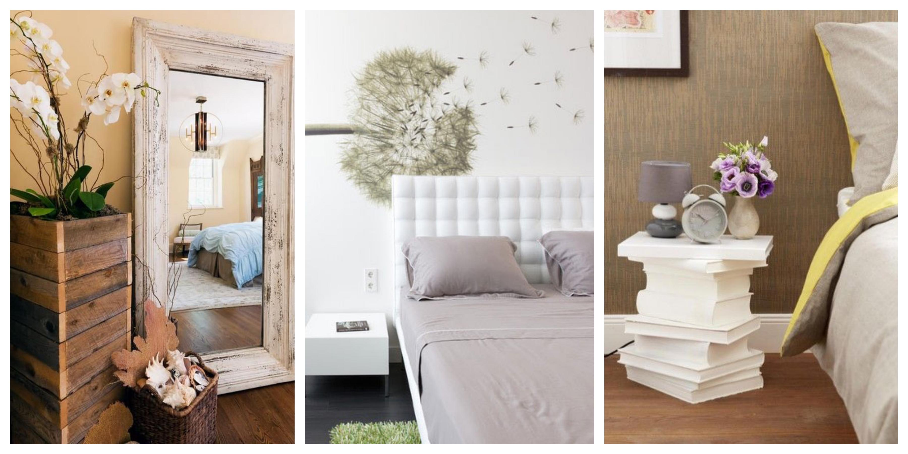 20 nápadů na skvělé dekorace do ložnic