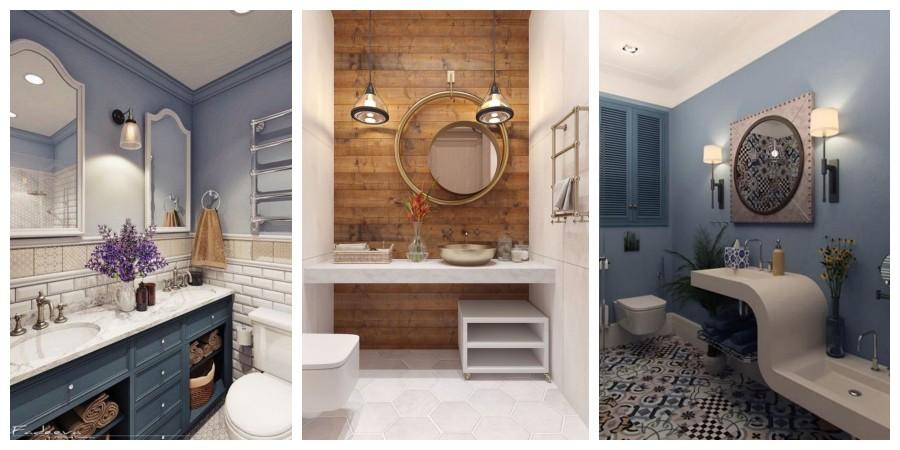 20 tipů na originální dekorace do koupelny