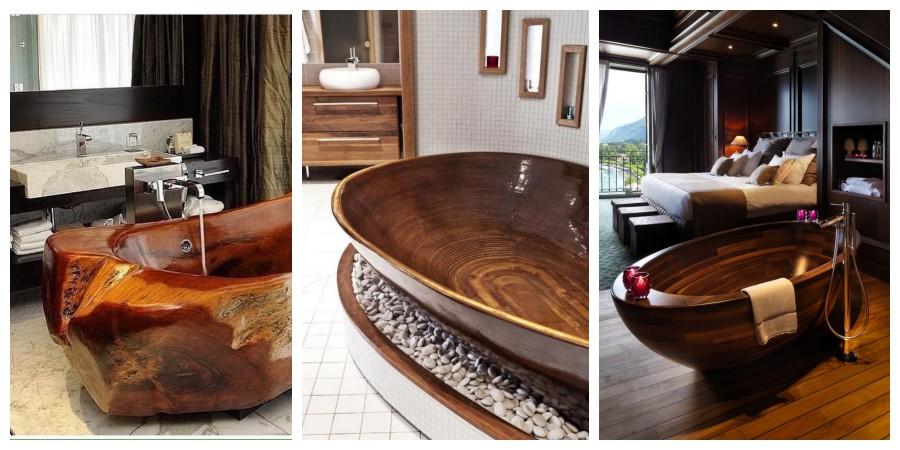 20 tipů na úžasné dřevěné vany