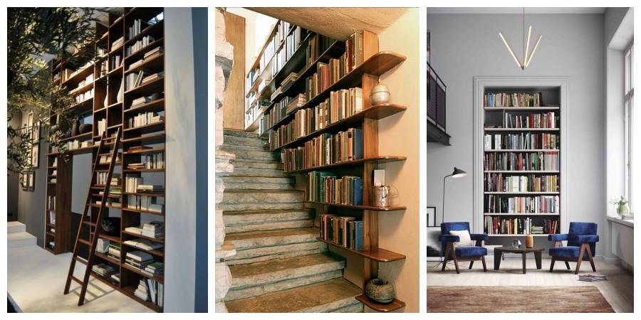 20 nápadů na originální umístění knihovny