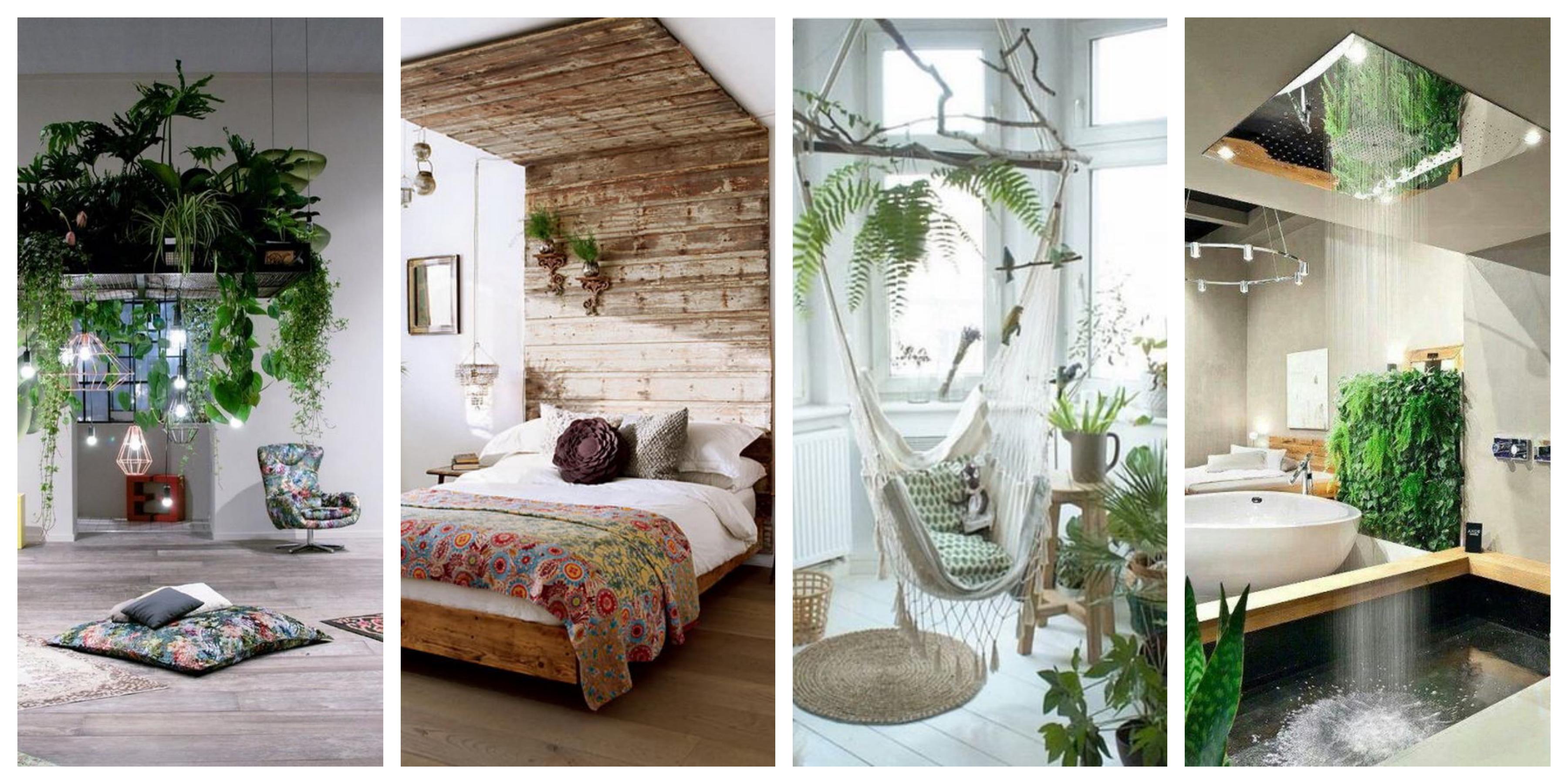 25 nápadů, jak originálně zakomponovat zeleň do interiéru
