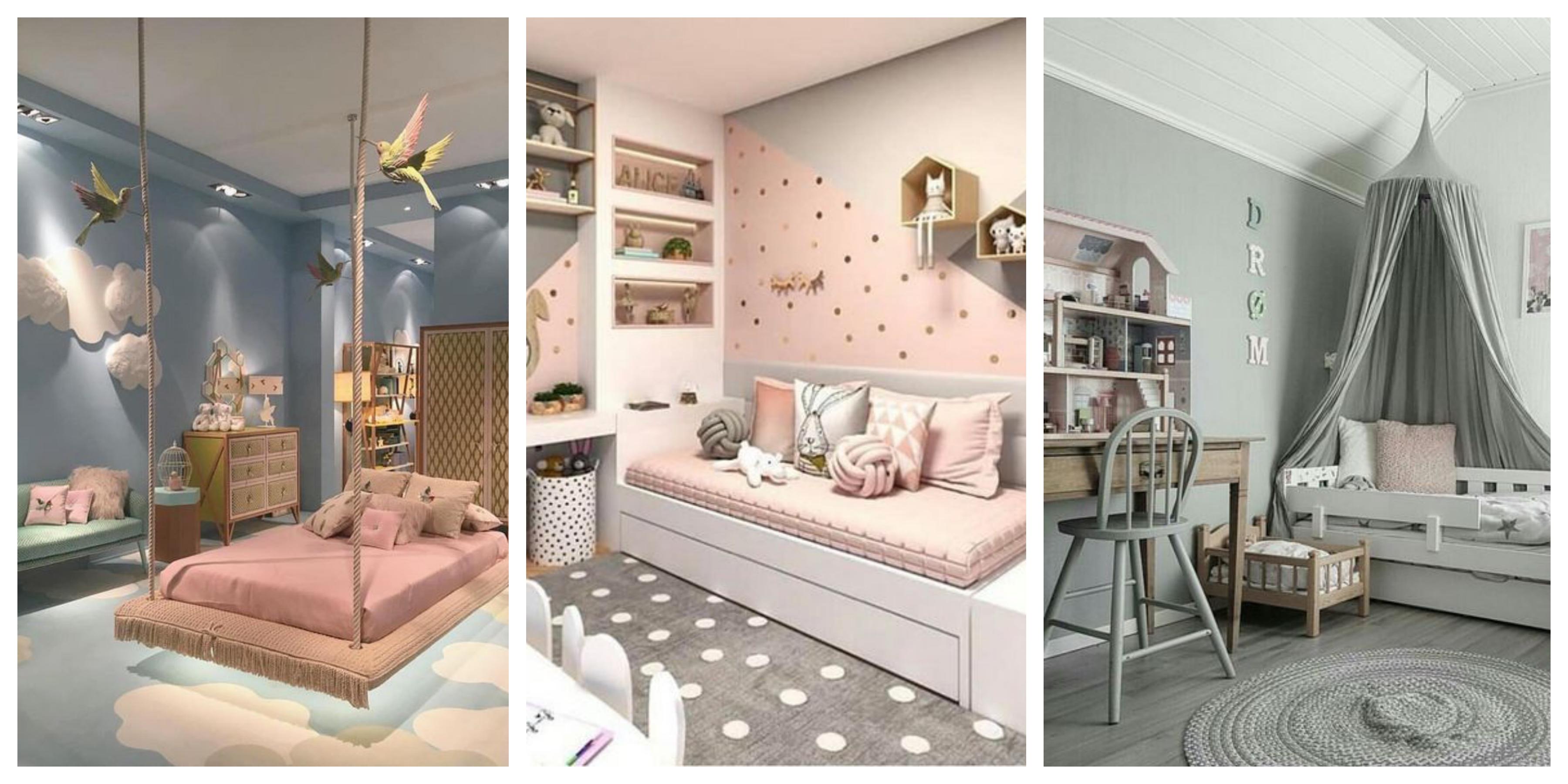 Dětský pokojík pro holku inspirace, fotogalerie