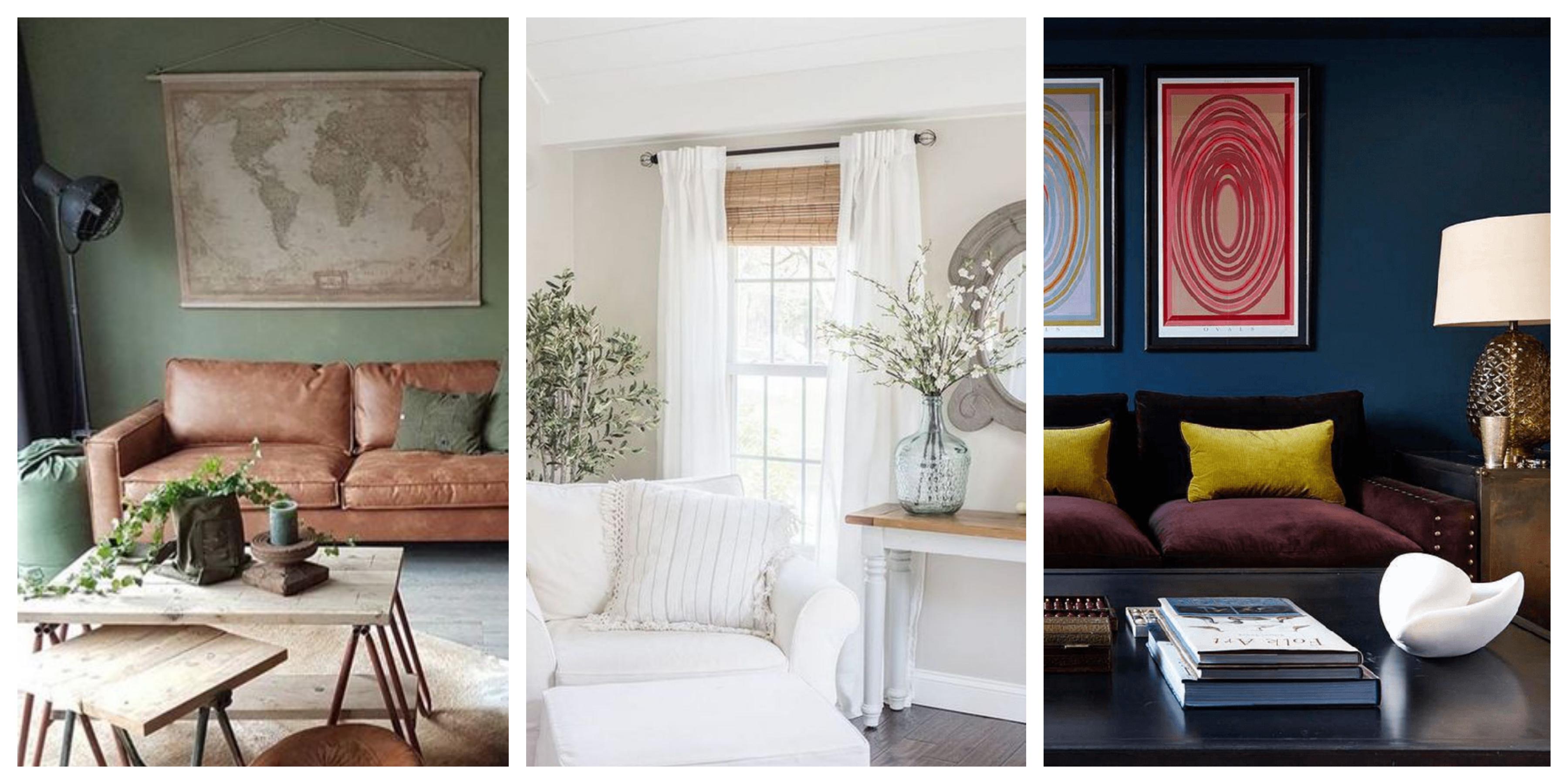 Barvy do obývacího pokoje inspirace, fotogalerie