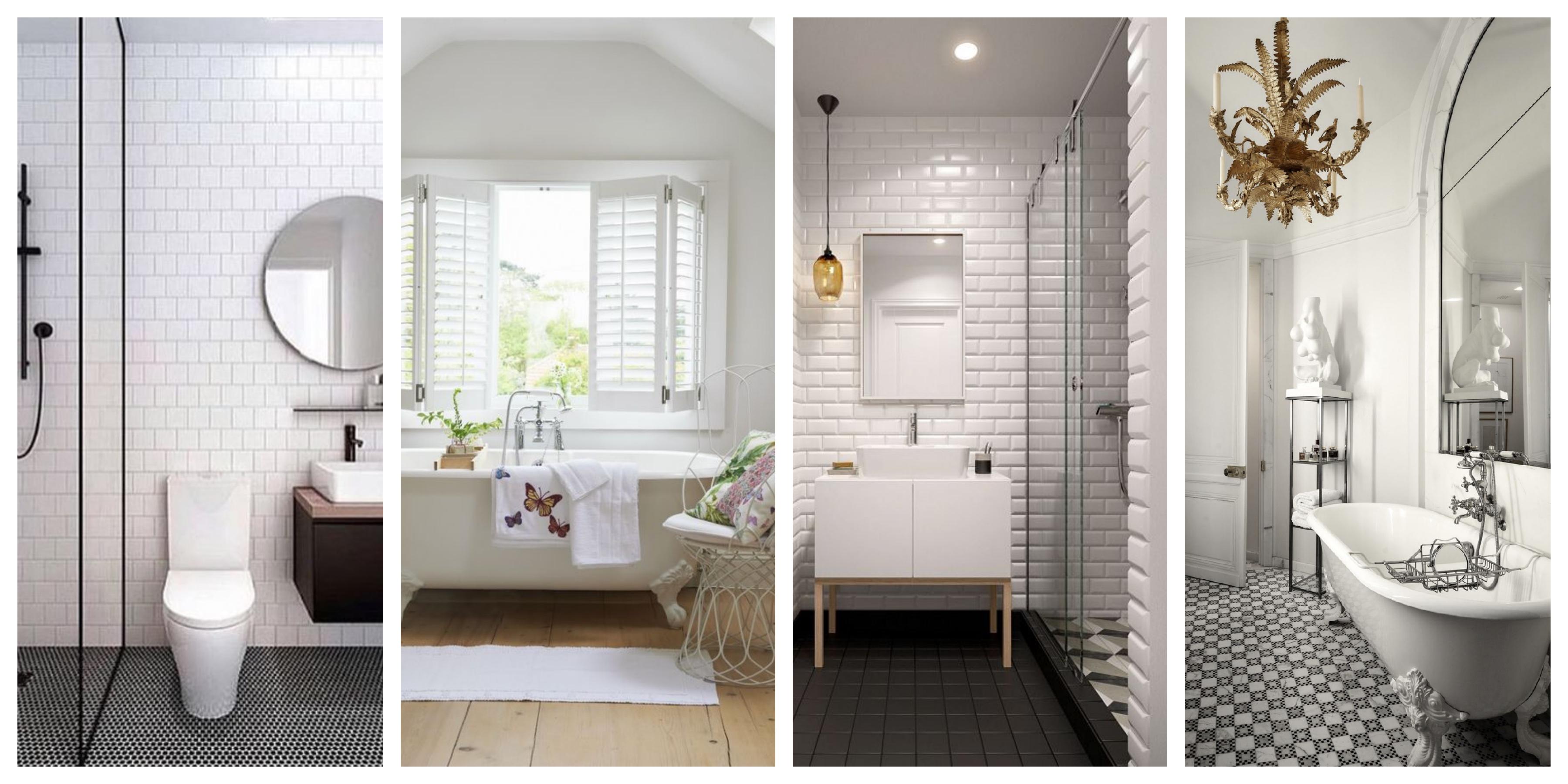 Bílá koupelna inspirace, fotogalerie