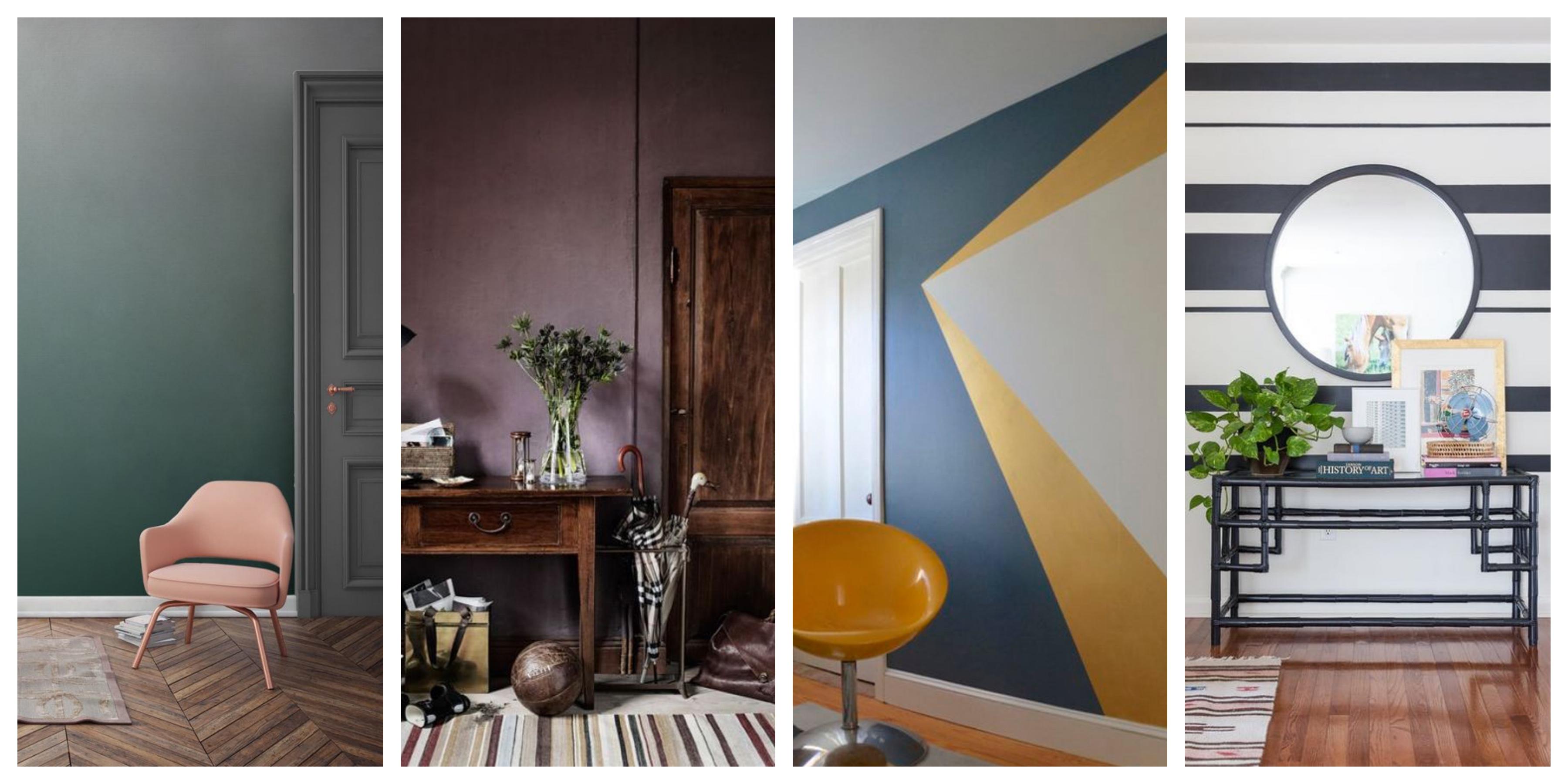 Barvy na zeď inspirace, fotogalerie