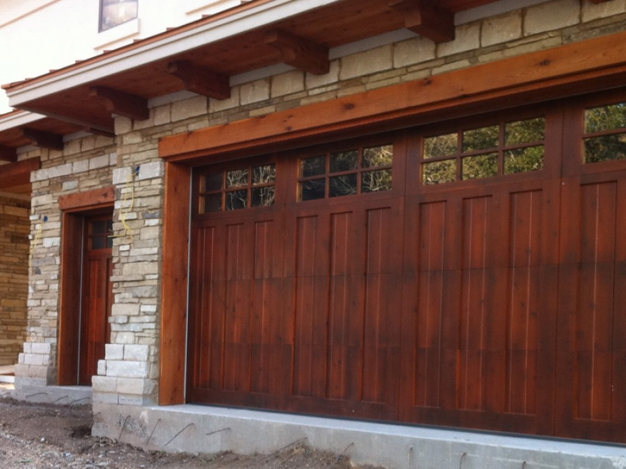 Garáže a garážová vrata - inspirace, fotogalerie