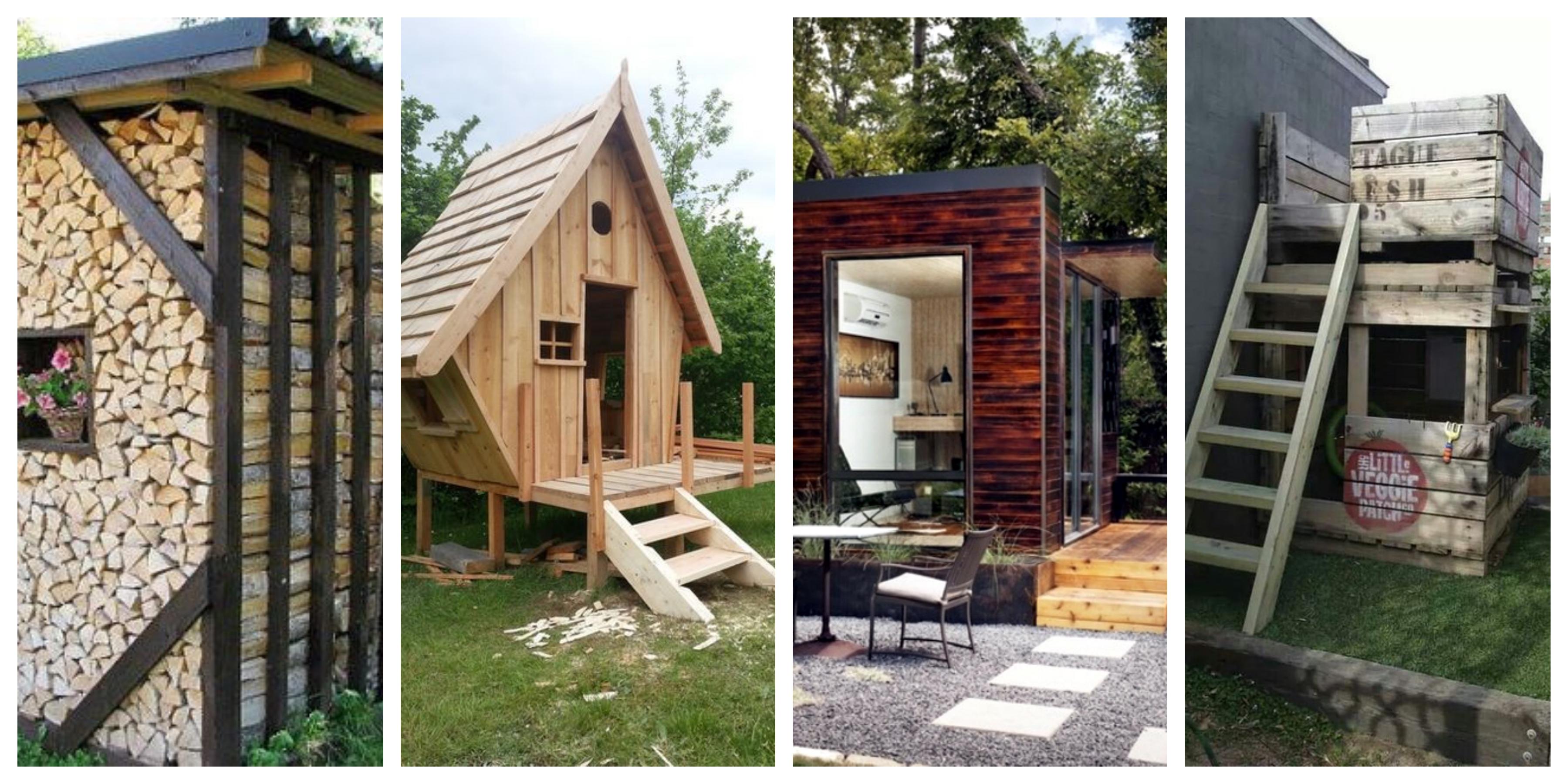 Zahradní stavby ze dřeva - inspirace, fotogalerie