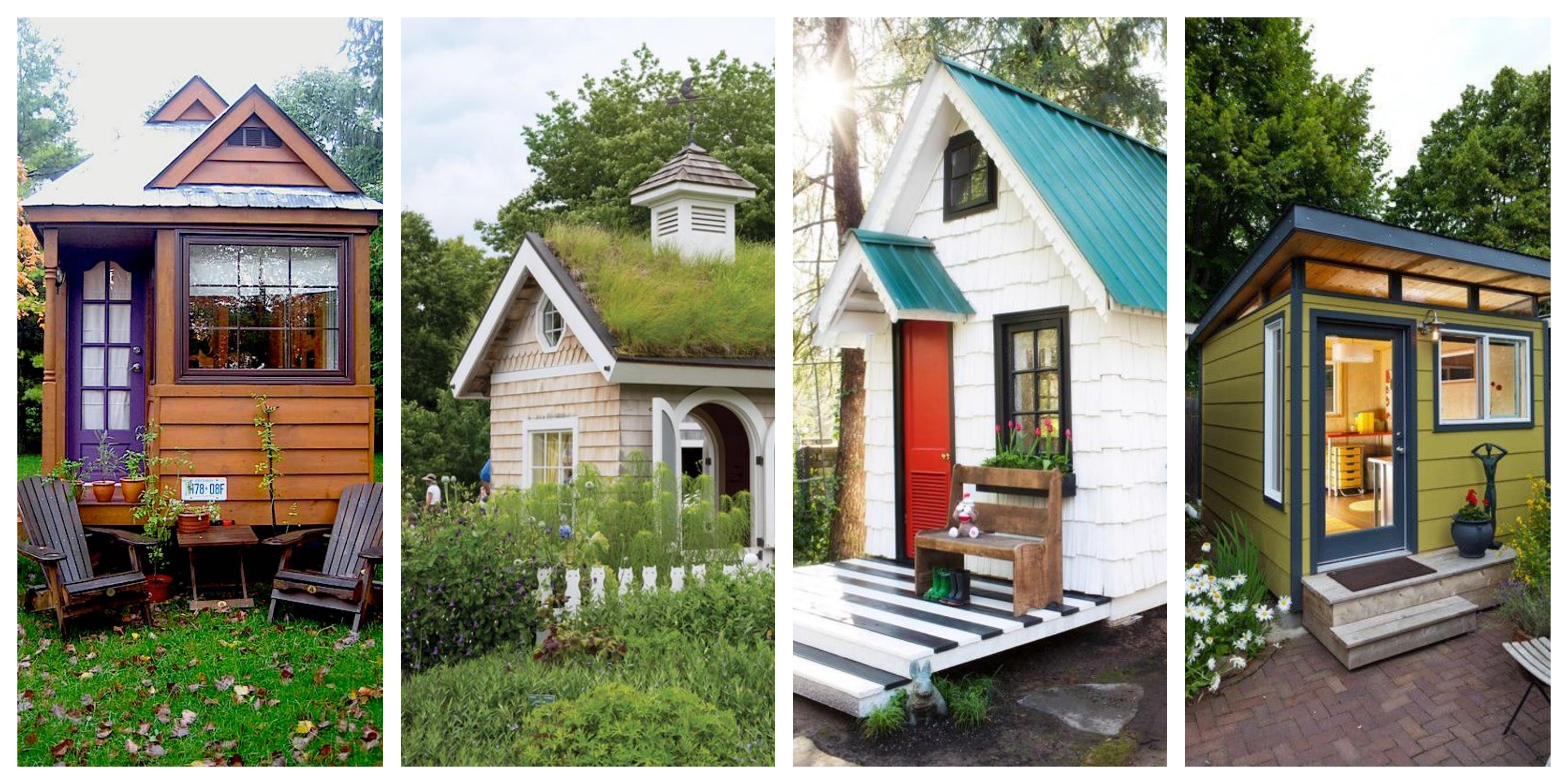 Zahradní chatky - inspirace, fotogalerie
