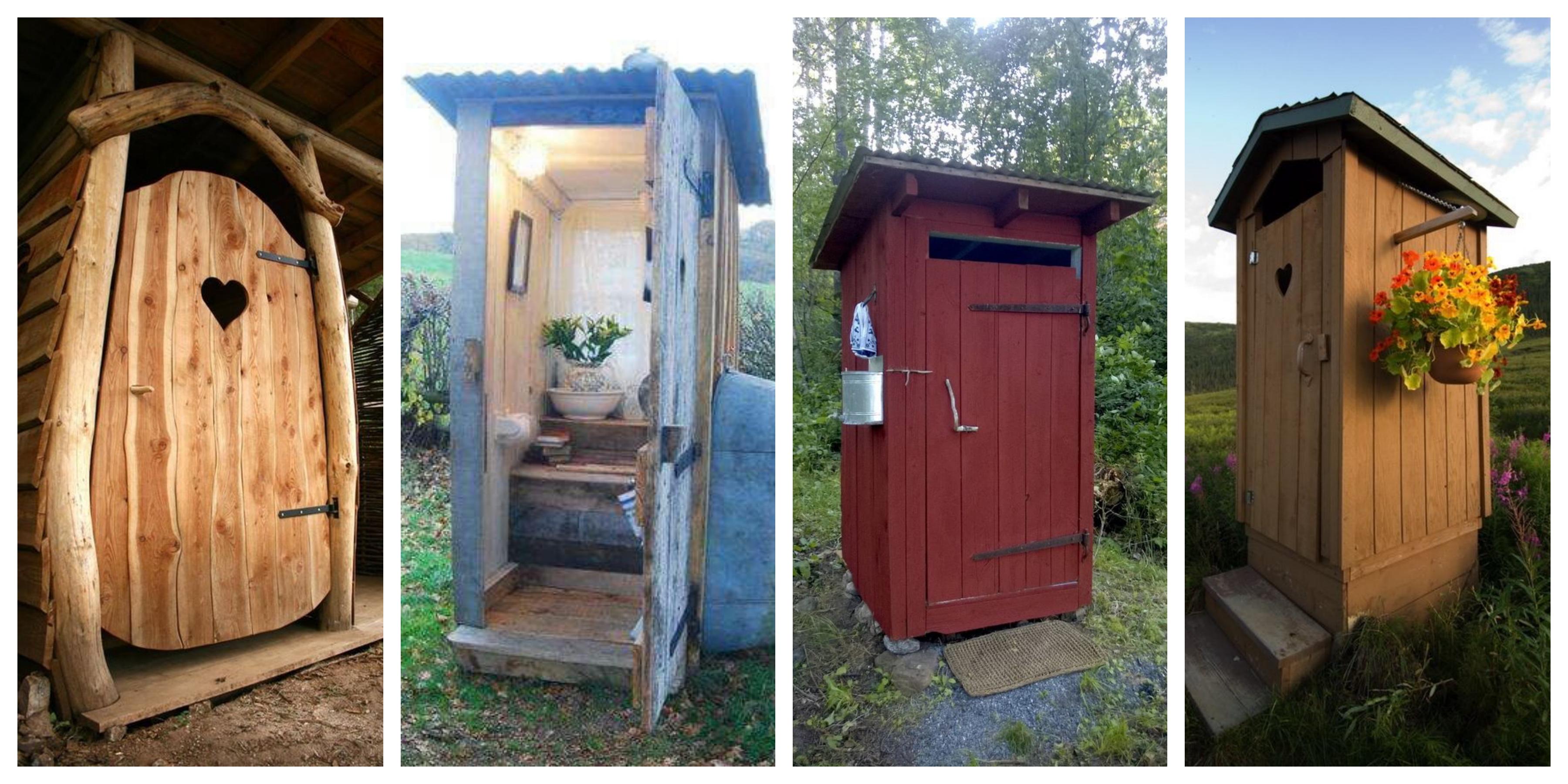 Suchý dřevěný záchod - inspirace, fotogalerie
