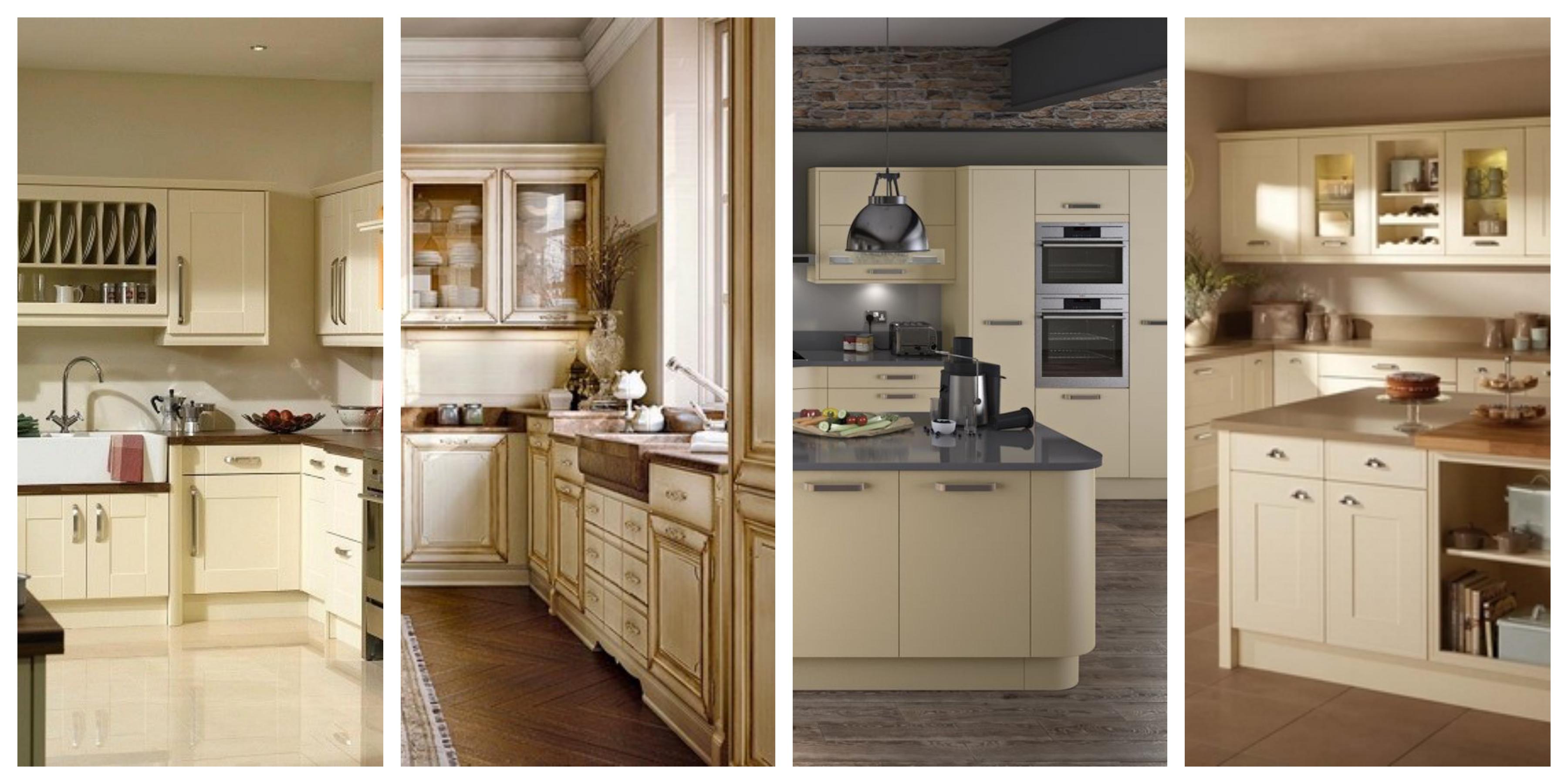 Vanilková kuchyně - inspirace, fotogalerie