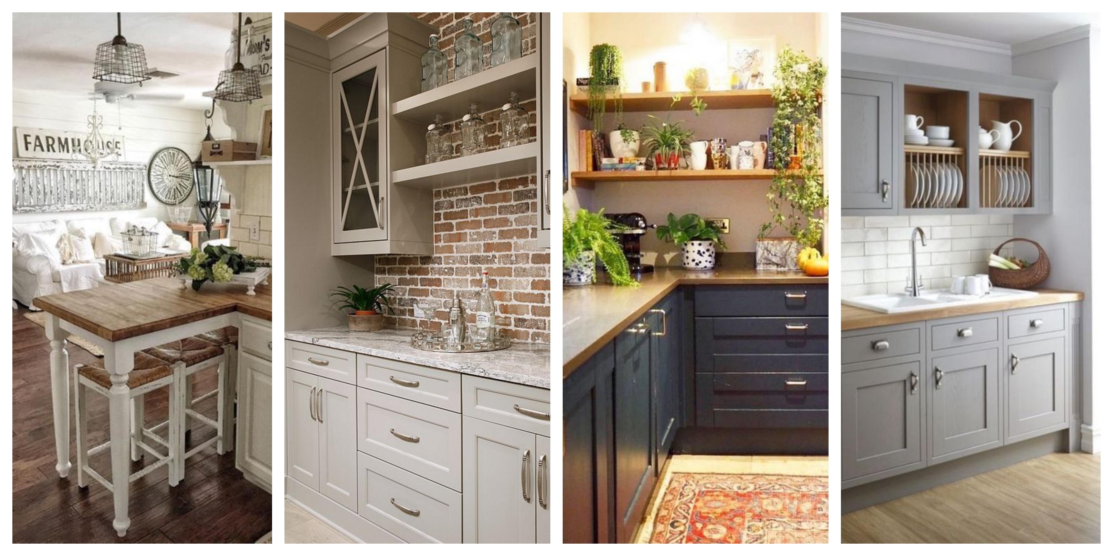 Kuchyně ve vintage stylu - inspirace, fotogalerie