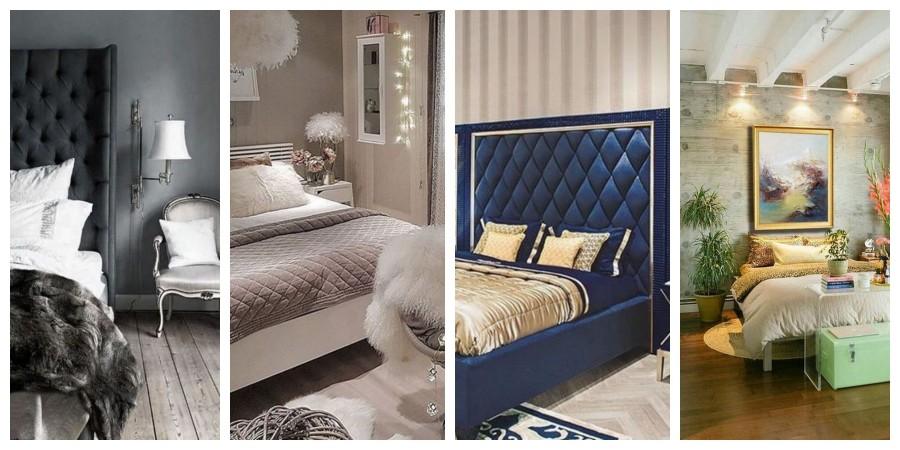 Luxusní ložnice - inspirace, fotogalerie