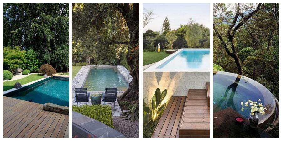 Bazény v zahradě - inspirace, fotogalerie