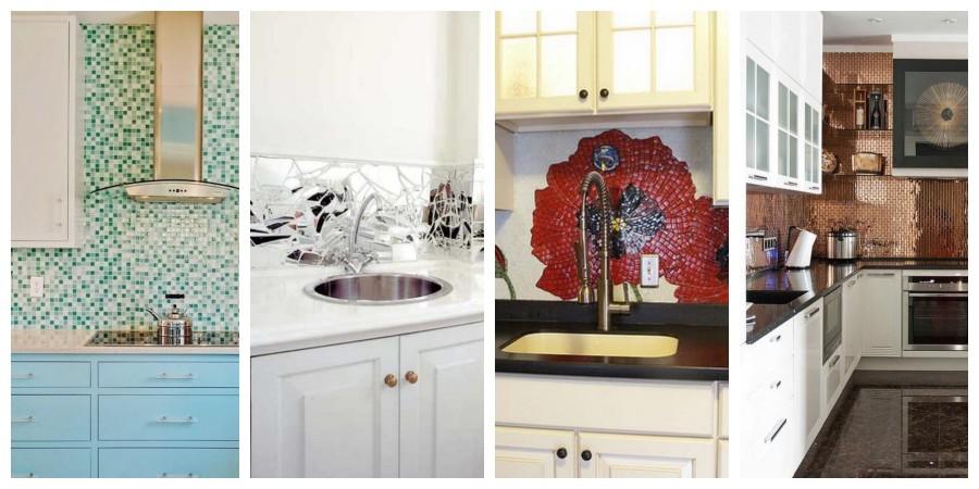 Mozaika na stěnu do kuchyně - inspirace, fotogalerie
