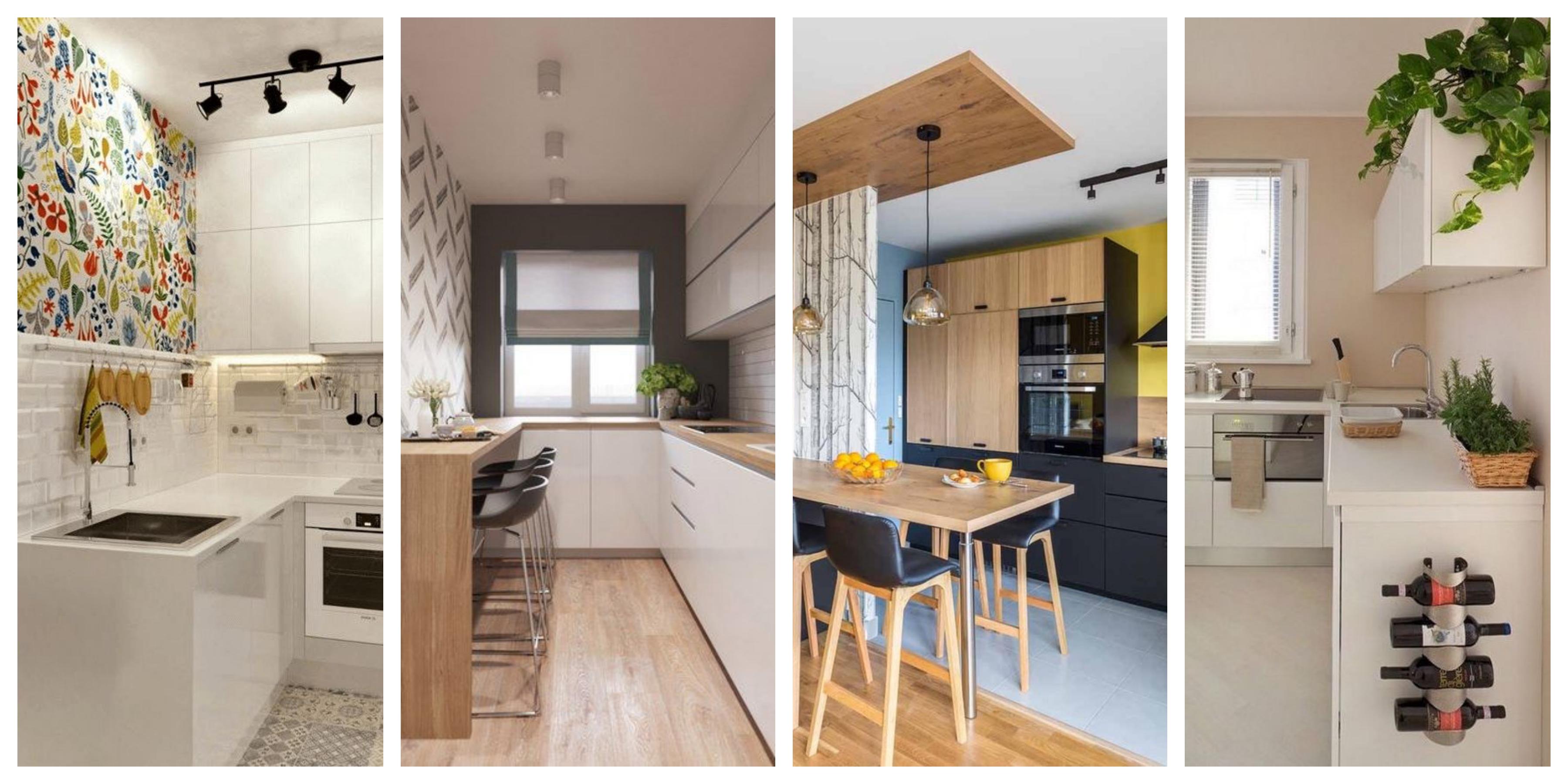Malé kuchyně - fotogalerie, inspirace