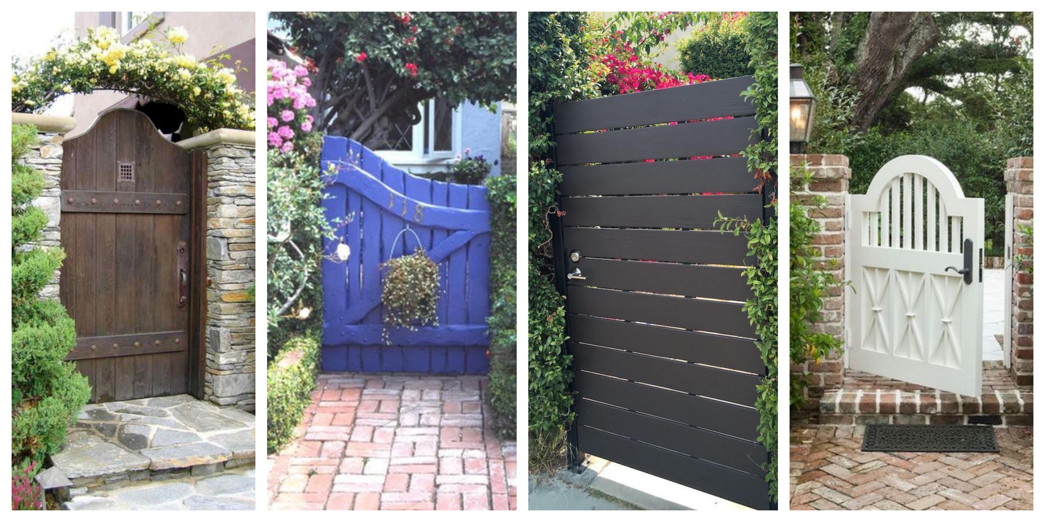 Dřevěná vrata a vrátka - inspirace, fotogalerie