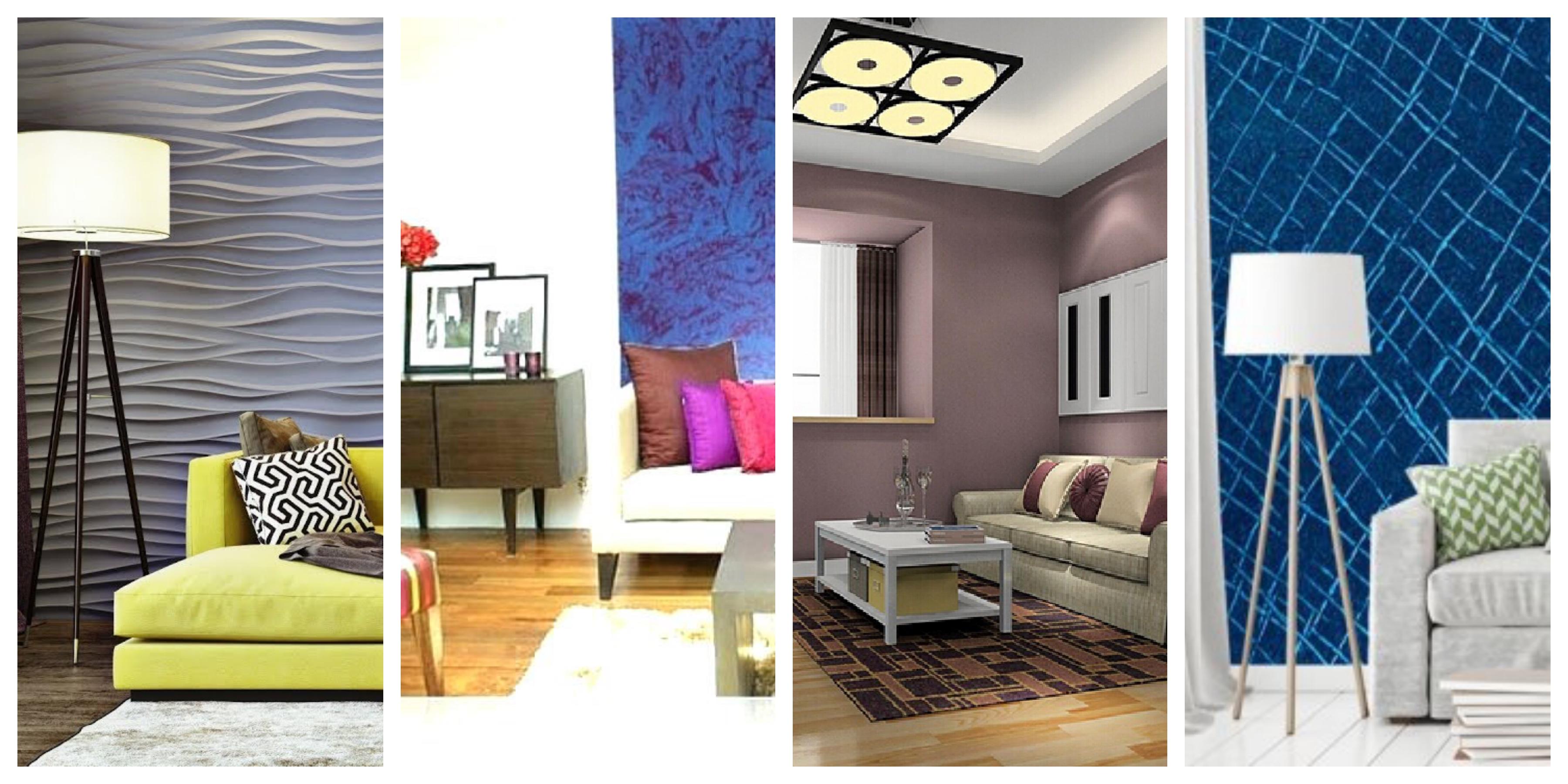 Barvy do obývajícího pokoje - fotogalerie, inspirace