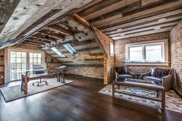 Staré dřevo v interiéru - inspirace, fotogalerie