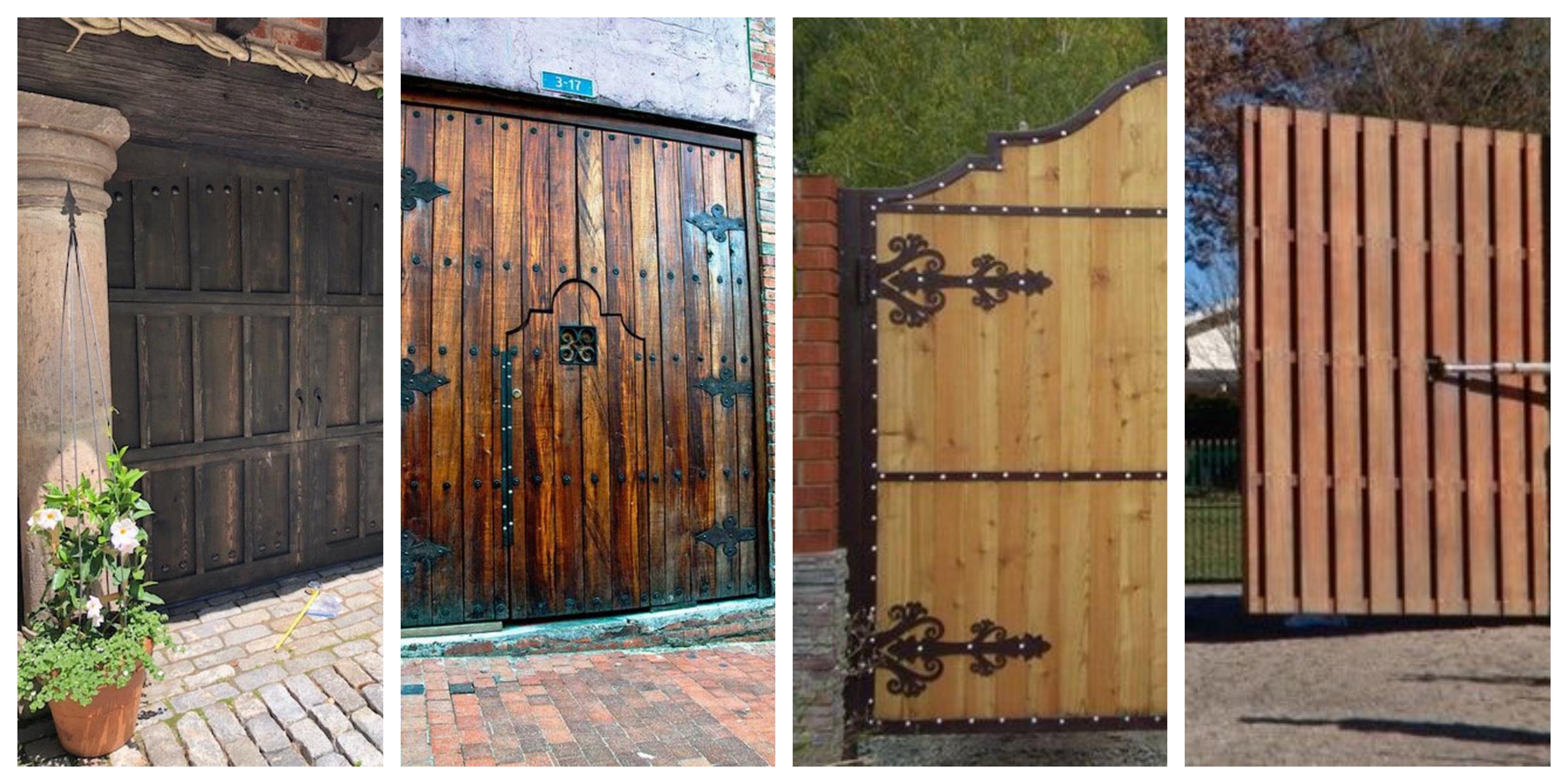 Dřevěná selská vrata - inspirace, fotogalerie