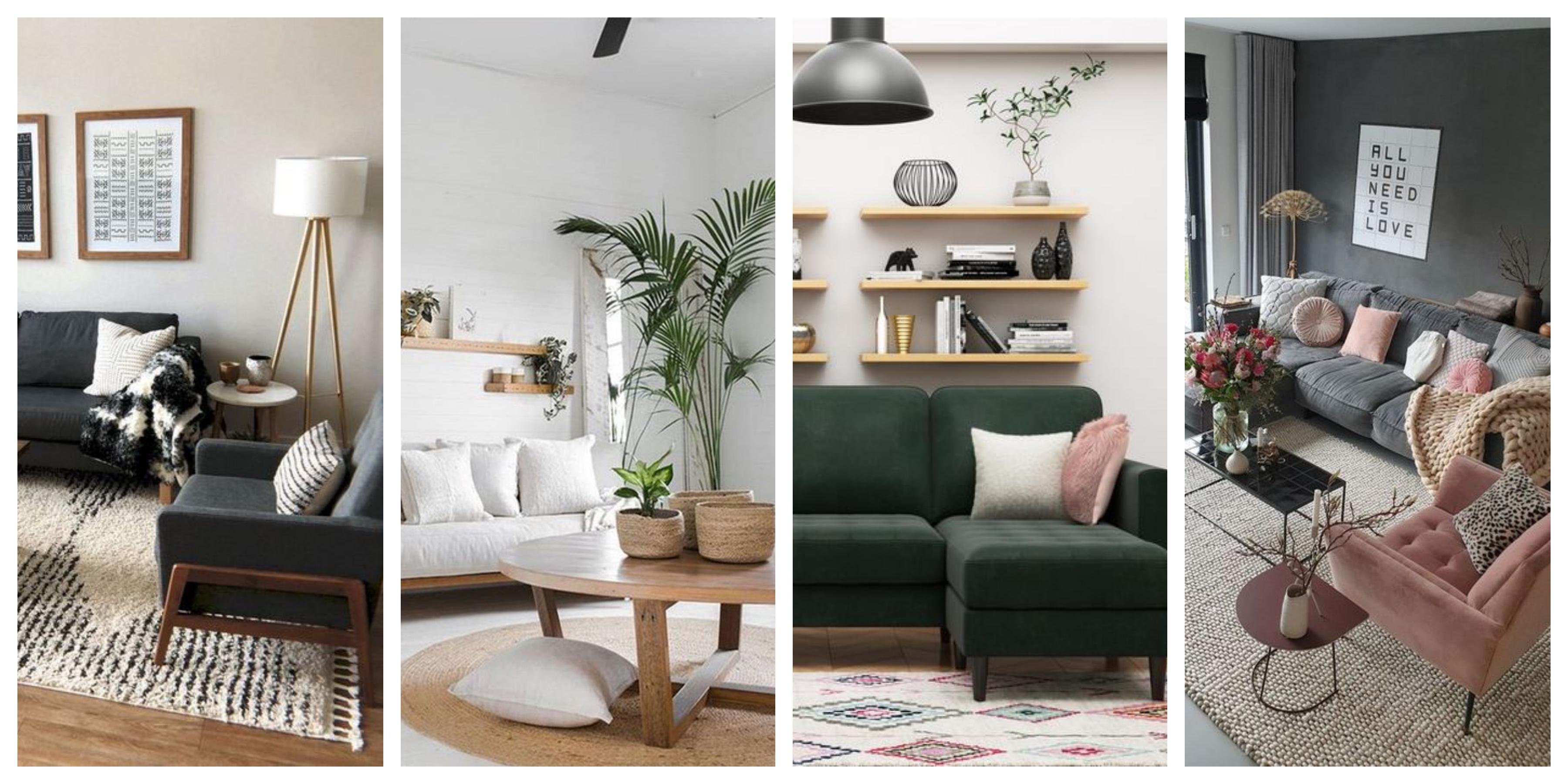Malý obývací pokoj - inspirace, fotogalerie