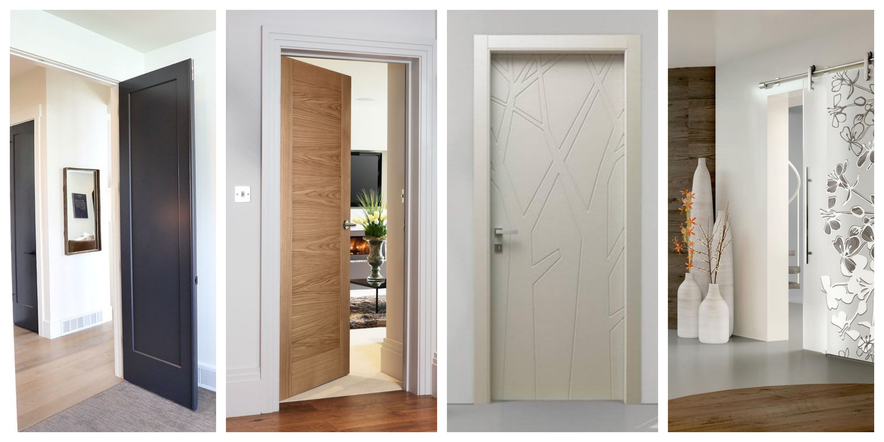 Originální interiérové dveře - fotogalerie, inspirace