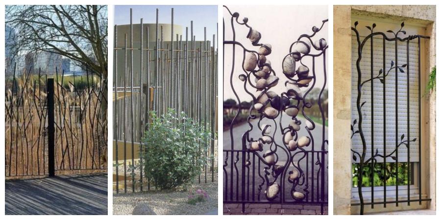Železné ploty a oplocení - inspirace, fotogalerie