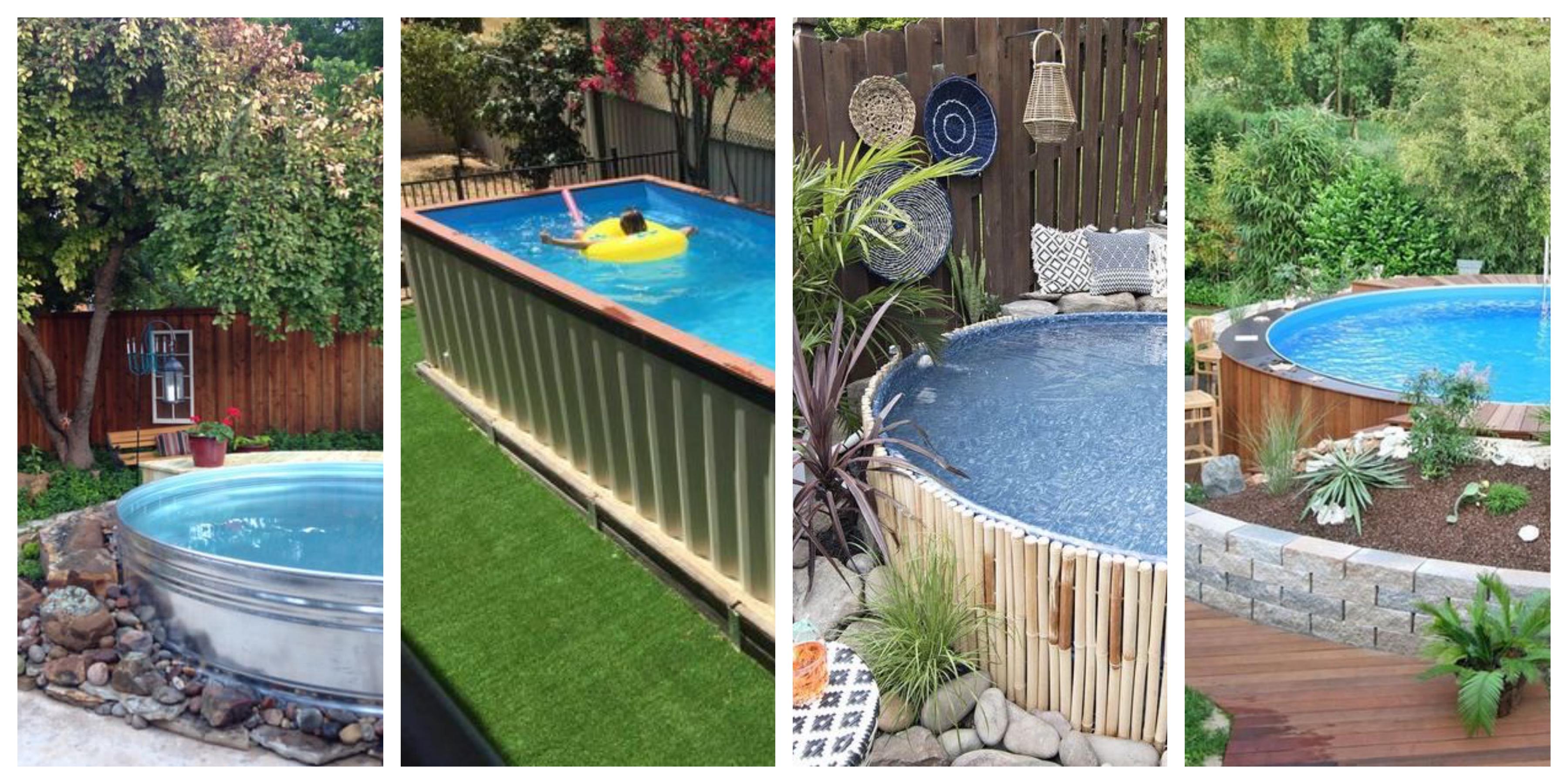 Nadzemní bazény - inspirace, fotogalerie