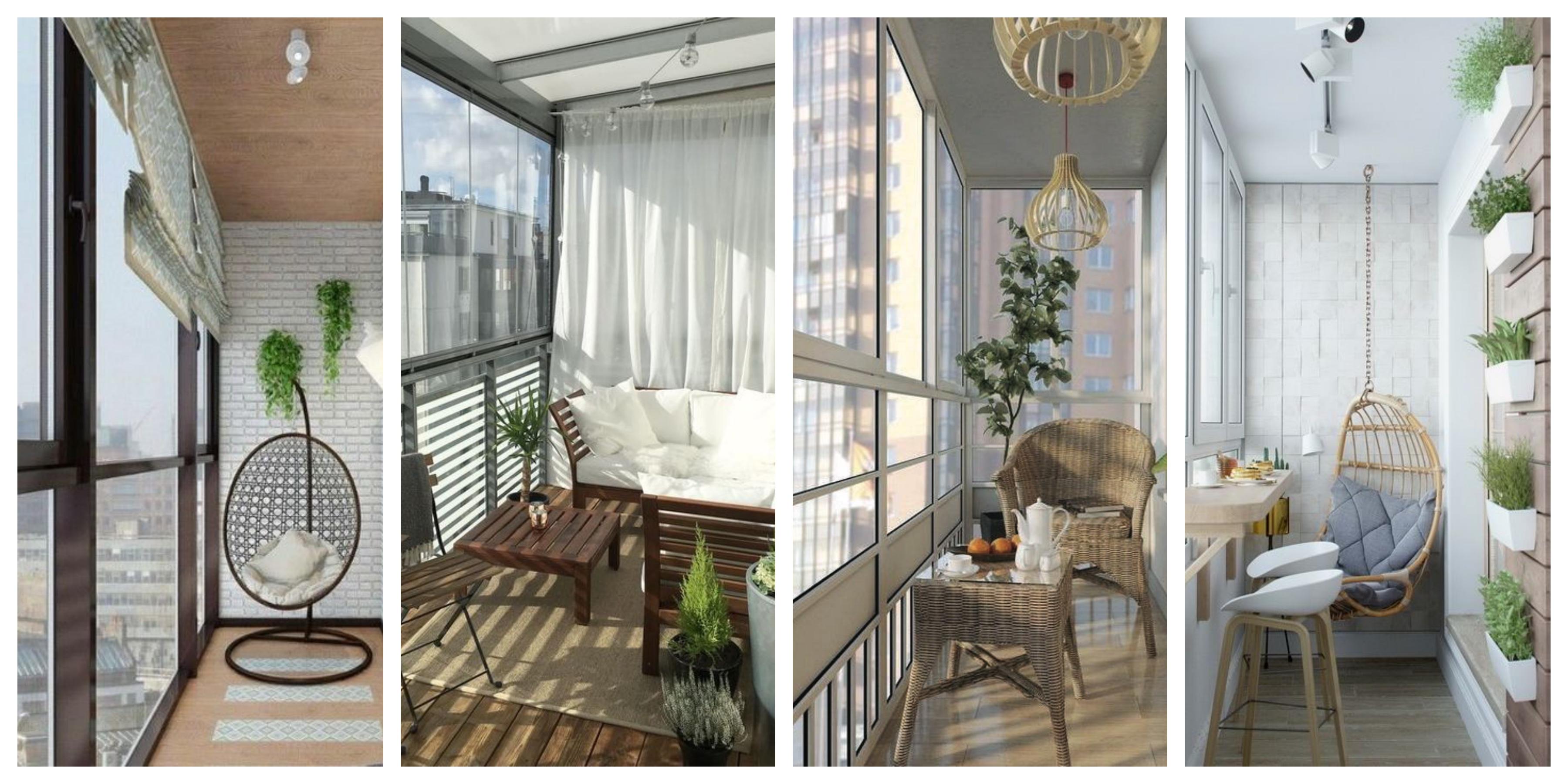 Zasklené balkóny - fotogalerie, inspirace