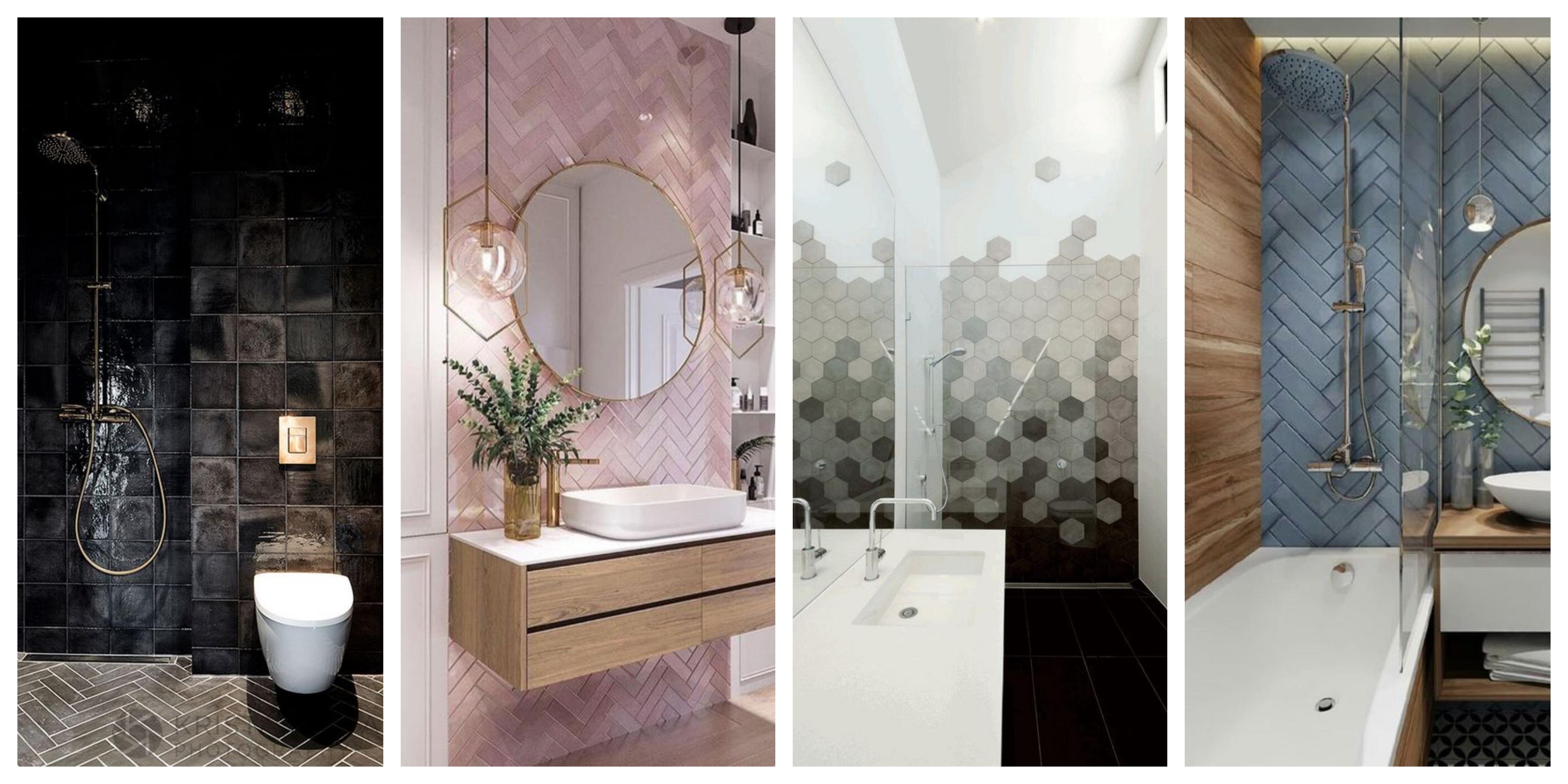 Obklady do koupelny - inspirace, fotogalerie