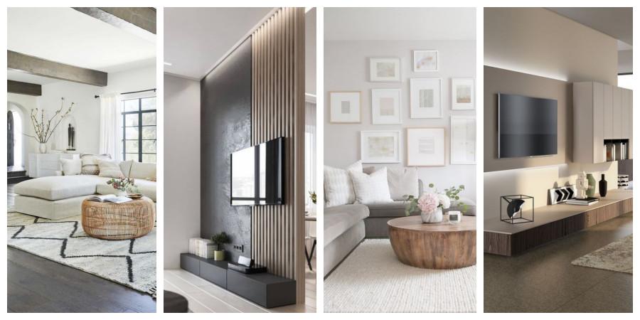 Moderní obývací pokoj - fotogalerie, inspirace