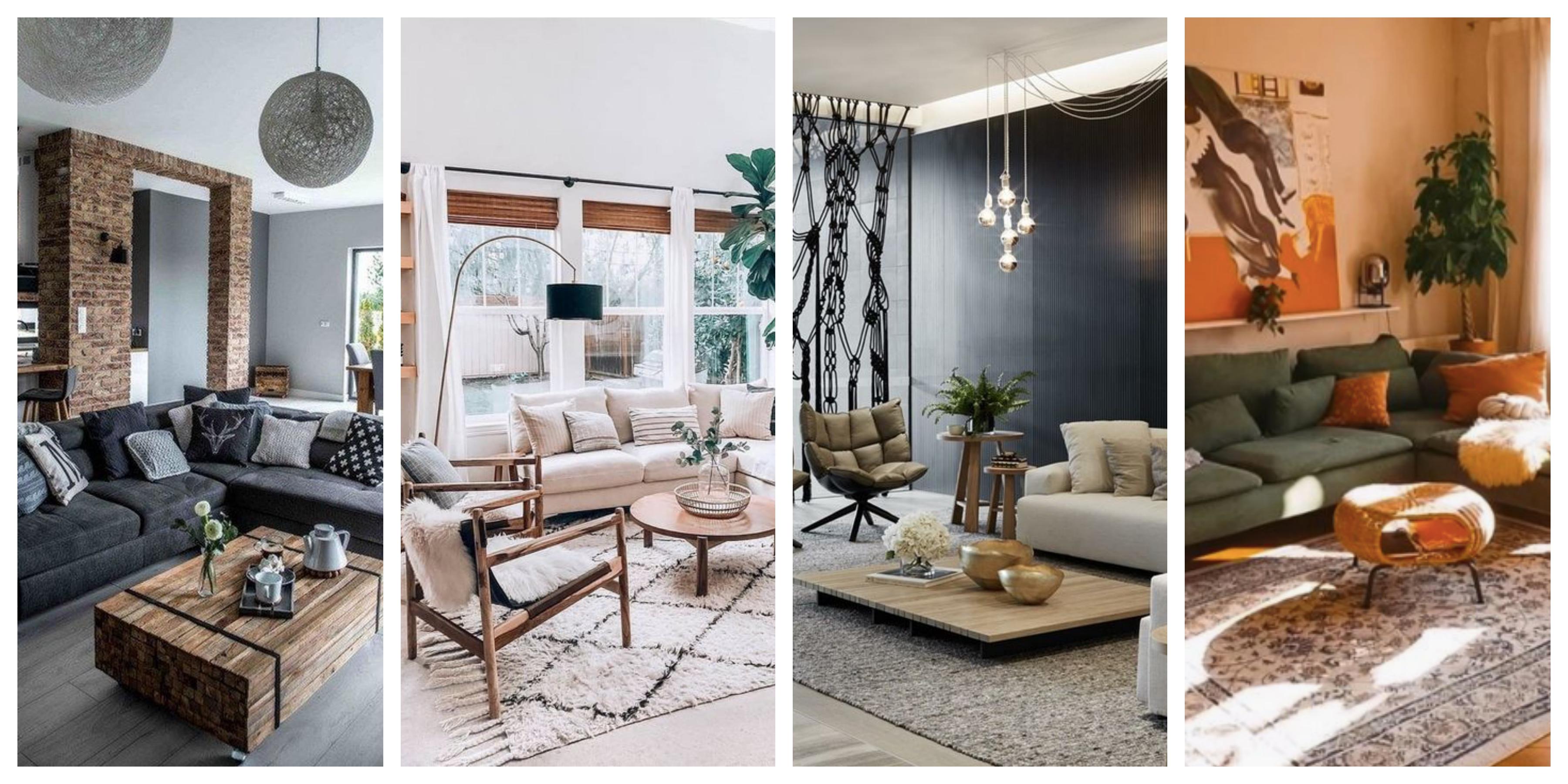 Obývací pokoje - inspirace, fotogalerie