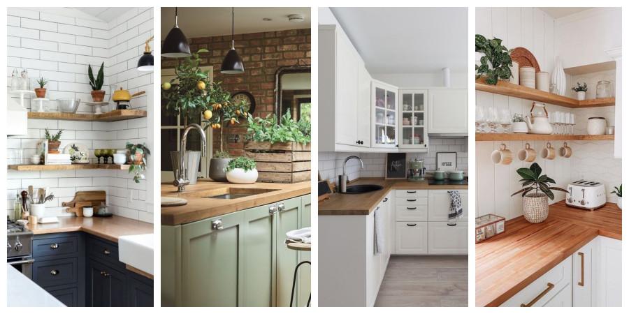 Kuchyně ve stylu Provence - inspirace, fotogalerie