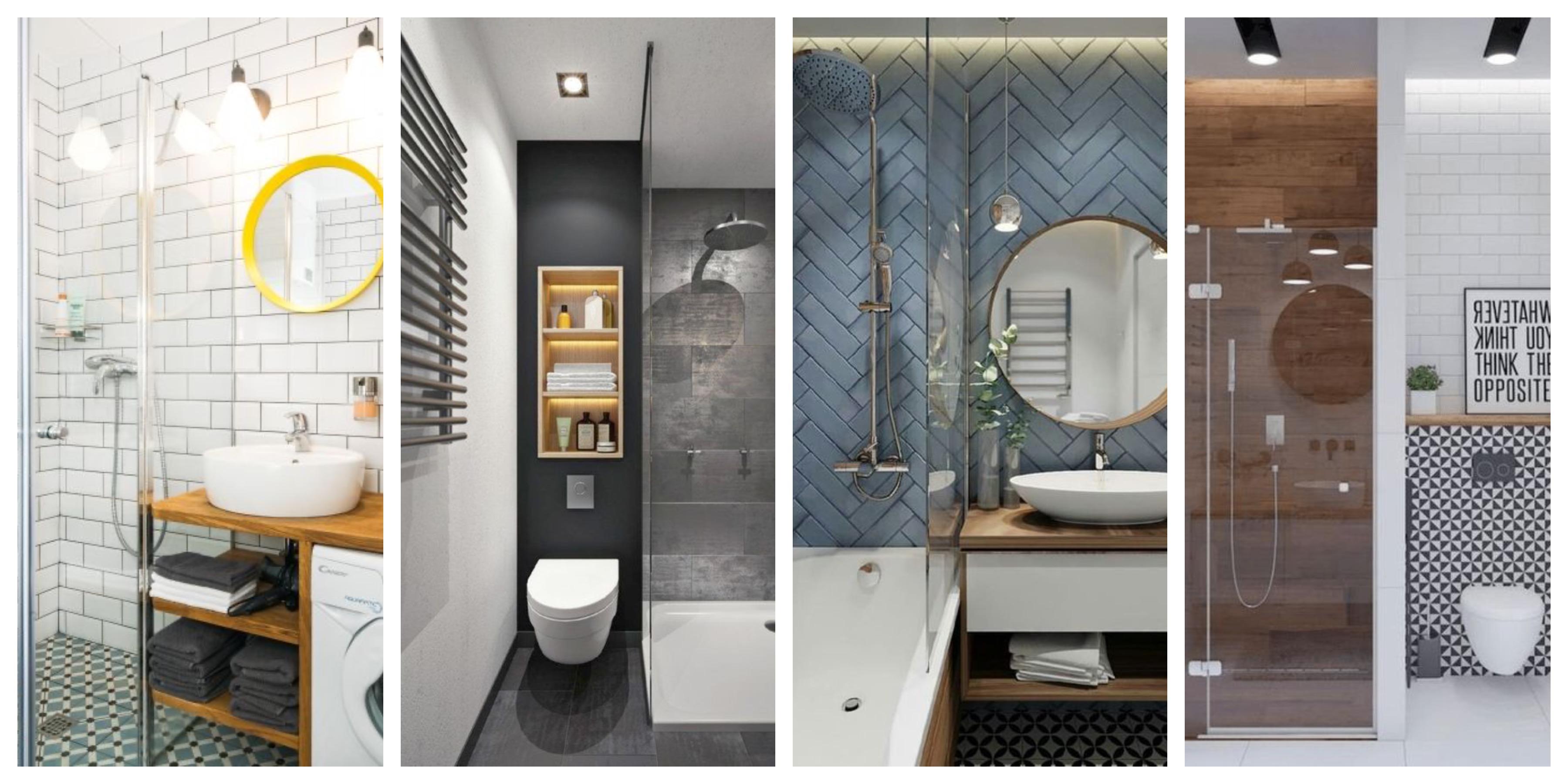 Panelákové koupelny - inspirace, fotogalerie