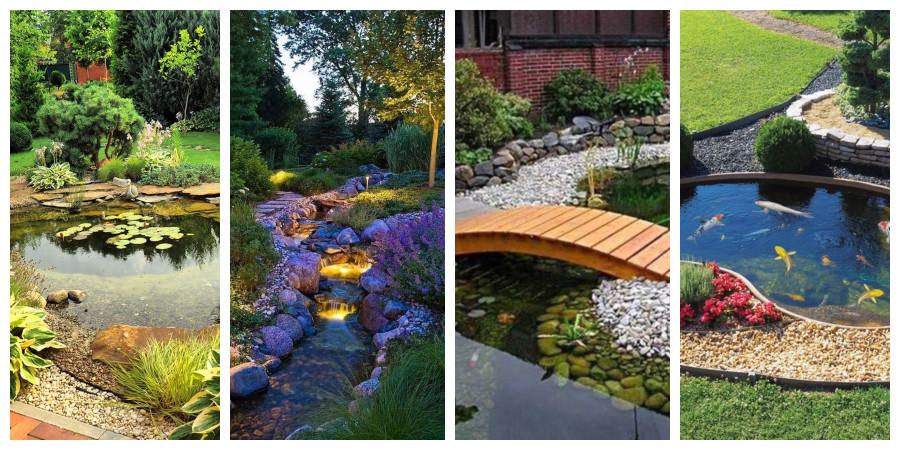 Zahradní jezírka - fotogalerie, inspirace