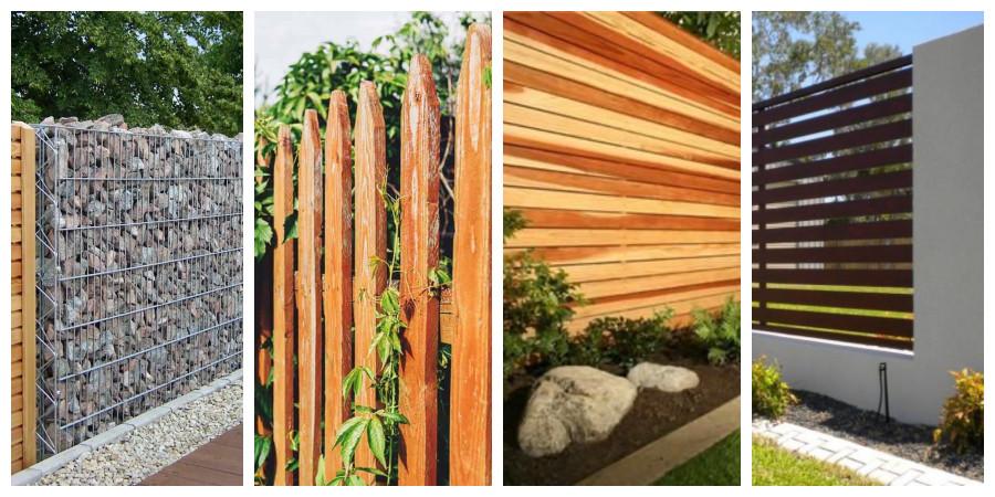 Dřevěné ploty a oplocení - fotogalerie, inspirace