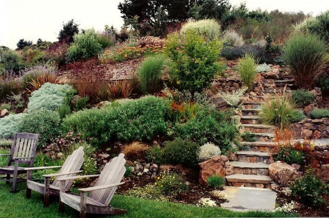 Okrasn 225 Zahrada Ve Svahu Inspirace Fotogalerie Bydlen 237