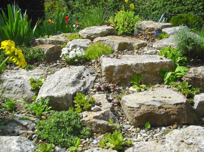 Zahradn skalky inspirace fotogalerie bydlen - Steingarten anlegen aufbau ...