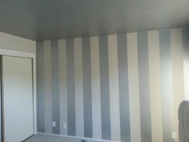 How To Paint Straight Stripes On Walls