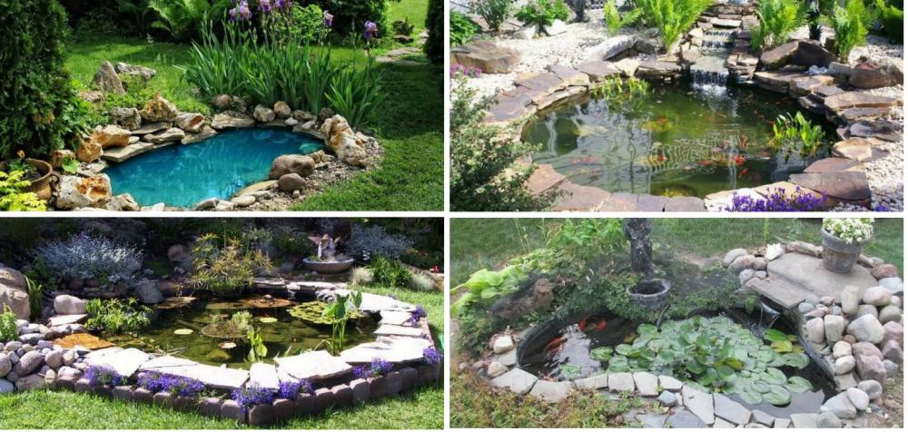 17 nápadů na jednoduchá zahradní jezírka