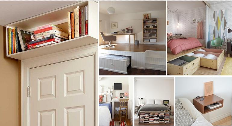 20+ nápadů, jak zvětšit malou ložnici