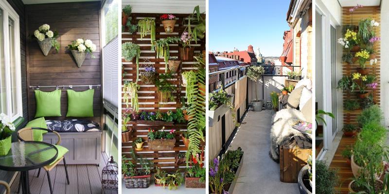 15+ nápadů, jak zútulnit i nejmenší balkon