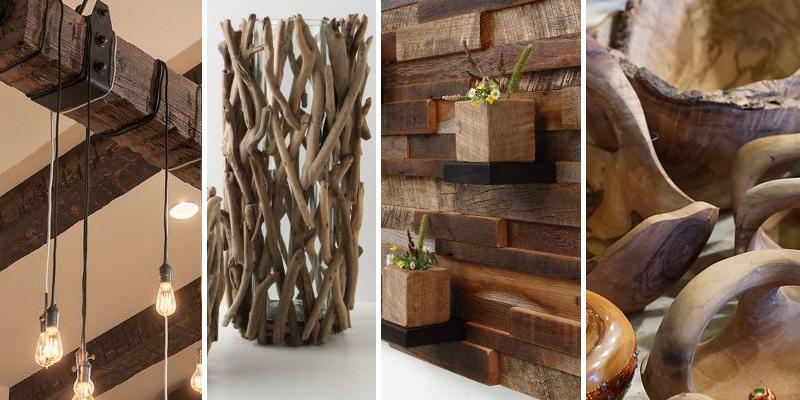 20+ tipů na originální dřevěné dekorace