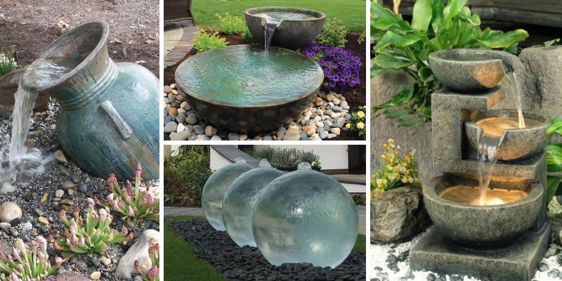 20 tipů, jak dodat zahradě klid pomocí vodopádu či fontánky