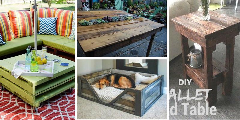 23 nápadů na nábytek z paletového dřeva