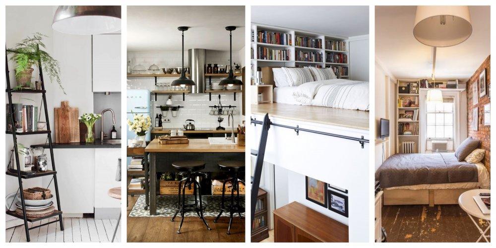 25 praktických triků, jak zútulnit malý byt