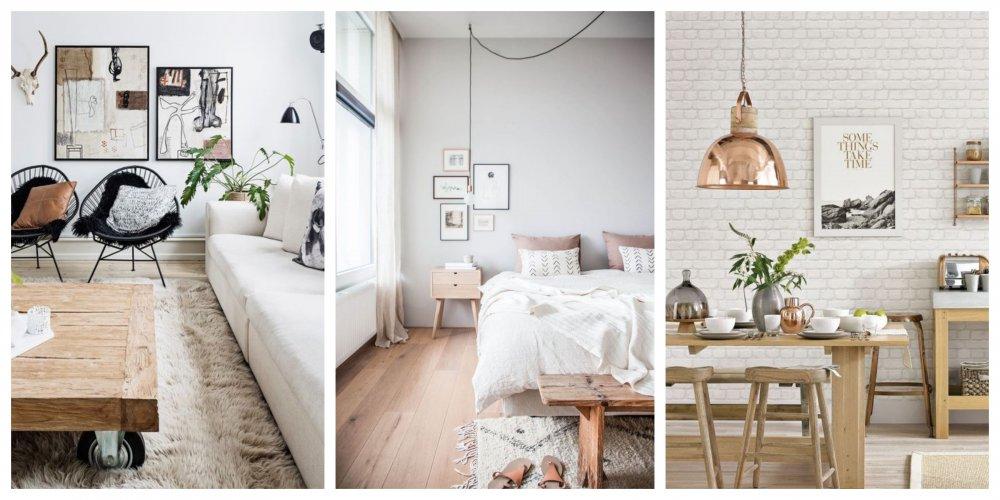20 nápadů na jedinečné interiéry ve skandinávském stylu