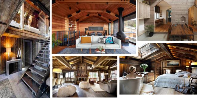 18 nádherných dřevěných interiérů